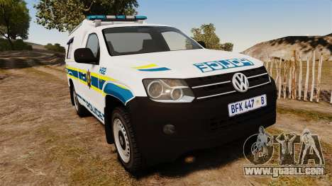 Volkswagen Amarok 2012 SAPS [ELS] for GTA 4
