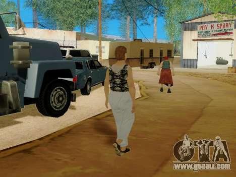 An elderly woman v.2 for GTA San Andreas ninth screenshot