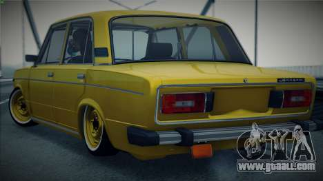 VAZ 2106 by The Cars for GTA San Andreas back left view