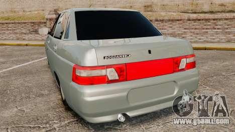 VAZ-2110 110 Bogdan for GTA 4 back left view