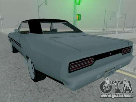 Plymouth Road RunneR GTX 1970 for GTA San Andreas right view