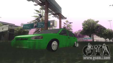 Chevrolet Corsa Wagon for GTA San Andreas inner view