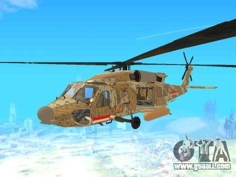 SH-60  Batik Indonesia for GTA San Andreas
