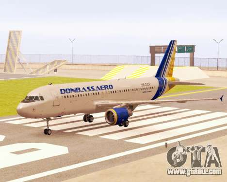 Airbus A320-200 Donbassaero for GTA San Andreas