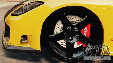 Mazda RX7 Veilside V8 for GTA 4 upper view
