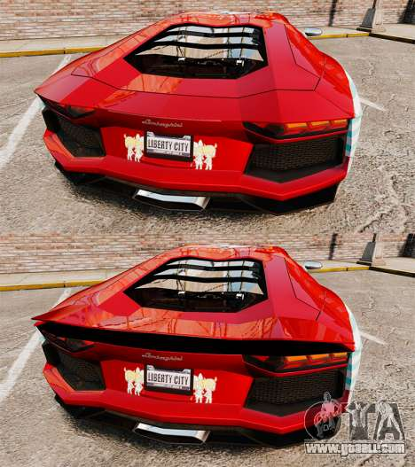 Lamborghini Aventador LP700-4 2012 [EPM] Miku 2 for GTA 4 bottom view