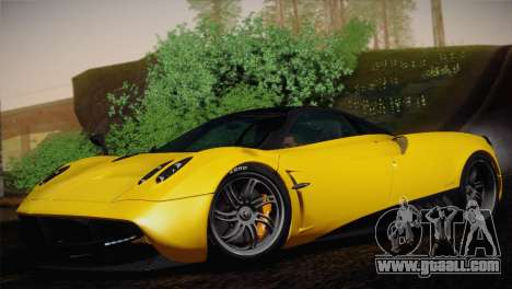 Pagani Huayra for GTA San Andreas back view