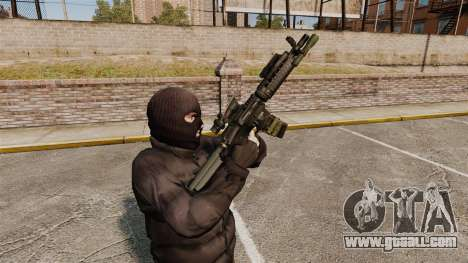 Automatic M4 carbine for GTA 4 sixth screenshot
