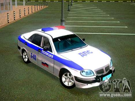 GAZ Volga 3111 DPS for GTA San Andreas right view