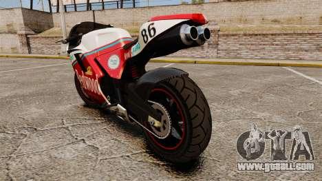 GTA IV TBoGT Pegassi Bati 800 for GTA 4 right view