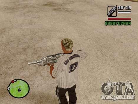 M-86 Sabre v.2 for GTA San Andreas seventh screenshot