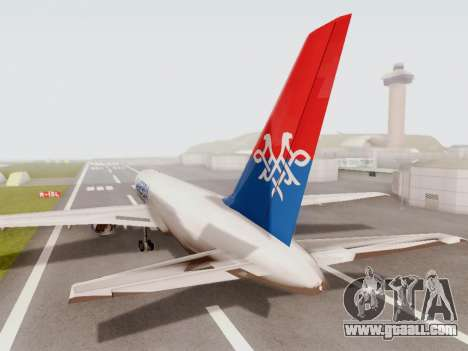 Boeing 767-300 for GTA San Andreas right view