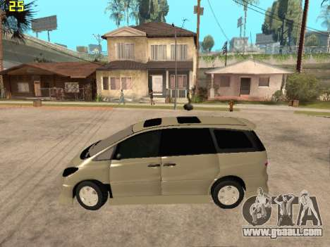 Toyota Estima Altemiss 2wd for GTA San Andreas left view