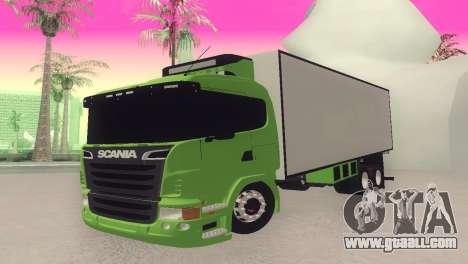 Scania 310 Bau for GTA San Andreas