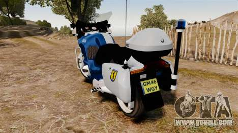 BMW R1150RT Portuguese Police [ELS] for GTA 4 right view
