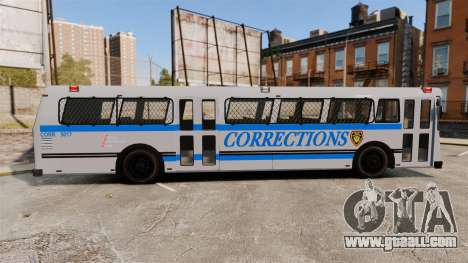 Brute Bus Corrections [ELS] for GTA 4 left view