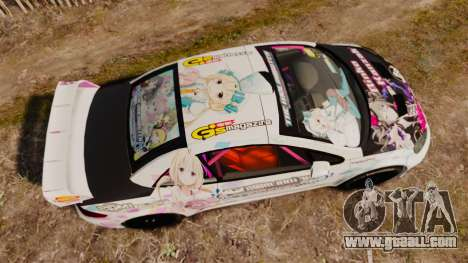 Peugeot 307 WRC The Idolmaster Cinderella Girls for GTA 4 right view
