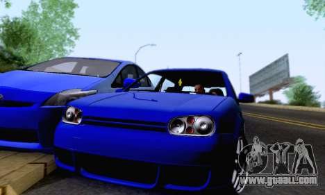 Volkswagen Golf R32 for GTA San Andreas upper view