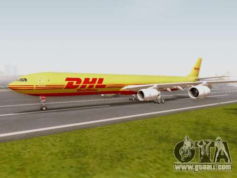 Airbus A340-600F DHL Buffalo for GTA San Andreas