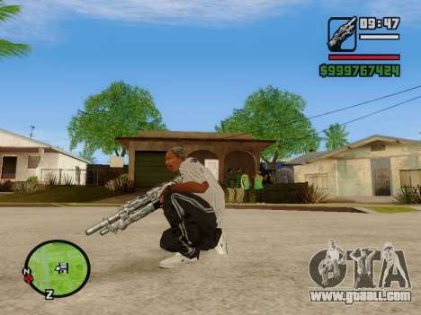 M-86 Sabre v.2 for GTA San Andreas fifth screenshot