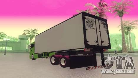 Scania 310 Bau for GTA San Andreas left view