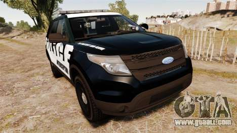 Ford Explorer 2013 Police Interceptor [ELS] for GTA 4