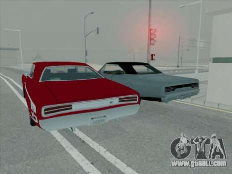 Plymouth Road RunneR GTX 1970 for GTA San Andreas side view