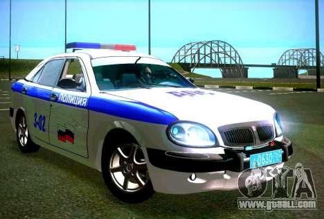 GAZ Volga 3111 DPS for GTA San Andreas