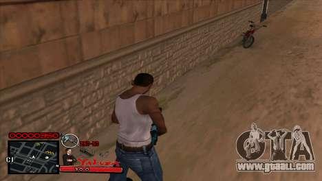 C-HUD Yakuza for GTA San Andreas