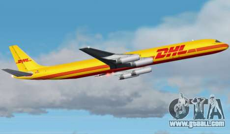 Airbus A340-600F DHL Buffalo for GTA San Andreas engine