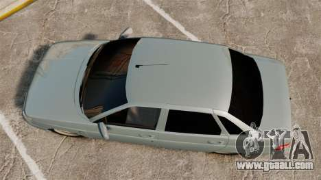 VAZ-2110 110 Bogdan for GTA 4 right view