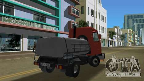 Multicar for GTA Vice City back left view