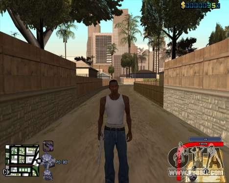 C-HUD by Mark Osborne for GTA San Andreas third screenshot