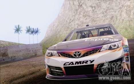 Toyota Camry NASCAR Sprint Cup 2013 for GTA San Andreas