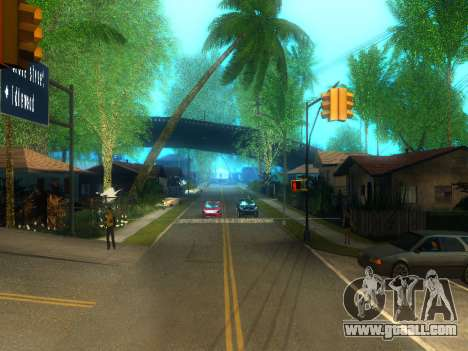 New Grove Street v2.0 for GTA San Andreas second screenshot