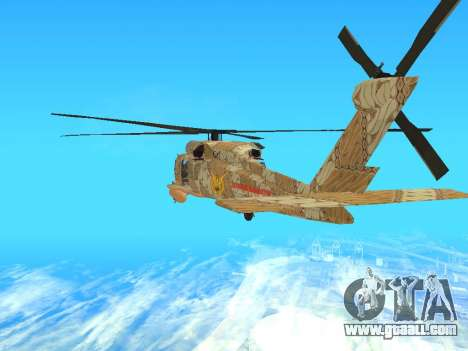 SH-60  Batik Indonesia for GTA San Andreas right view