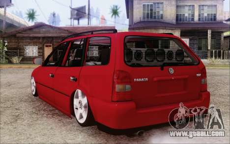 Volkswagen Parati SPS Club for GTA San Andreas left view