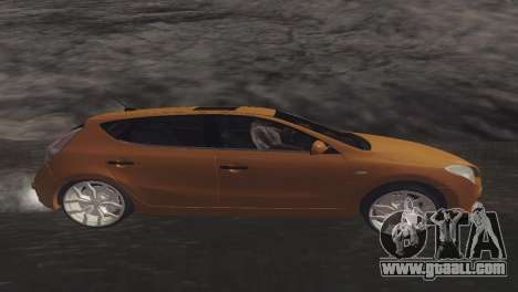 Hyundai i30 for GTA San Andreas left view