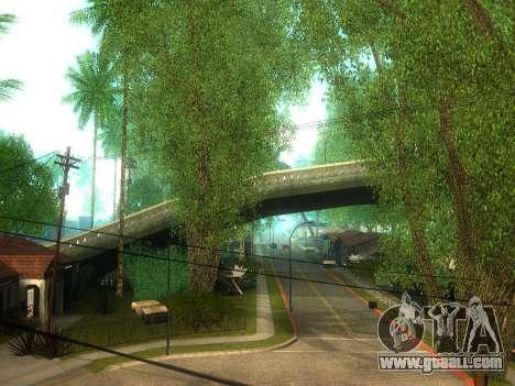 New Grove Street v2.0 for GTA San Andreas