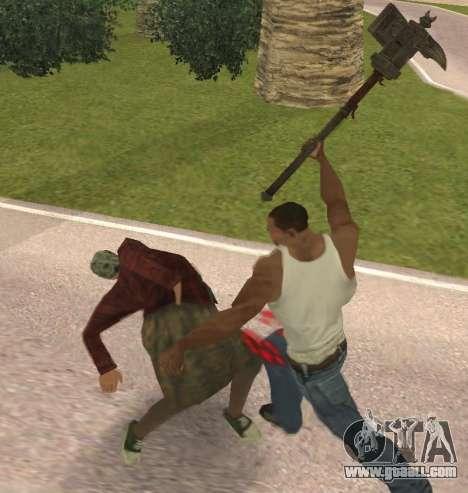 Baton Marker for GTA San Andreas fifth screenshot