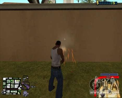C-HUD by Mark Osborne for GTA San Andreas second screenshot