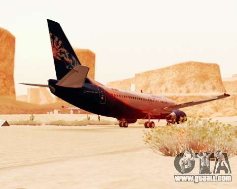 Boeing 737-500, Aeroflot Nord for GTA San Andreas back view