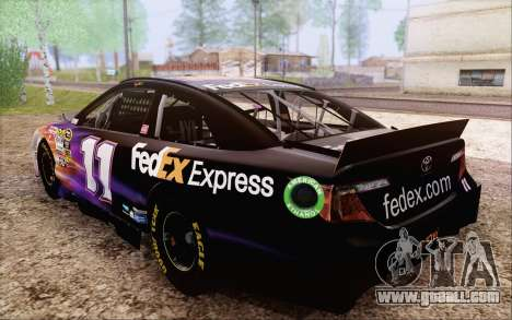 Toyota Camry NASCAR Sprint Cup 2013 for GTA San Andreas side view