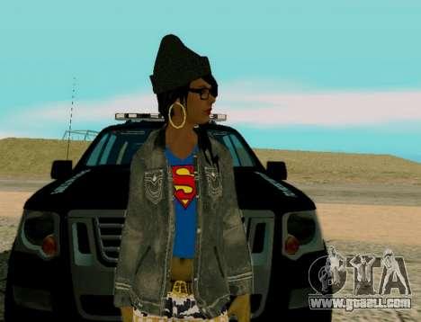 Girl Swagg for GTA San Andreas