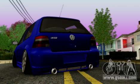 Volkswagen Golf R32 for GTA San Andreas right view