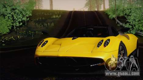 Pagani Huayra for GTA San Andreas right view