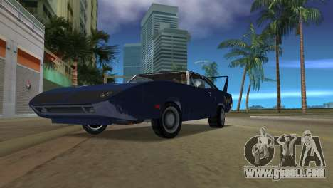 Plymouth Superbird for GTA Vice City back left view