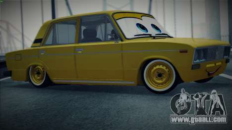 VAZ 2106 by The Cars for GTA San Andreas left view