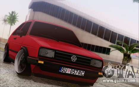 Volkswagen Golf Mk 2 for GTA San Andreas