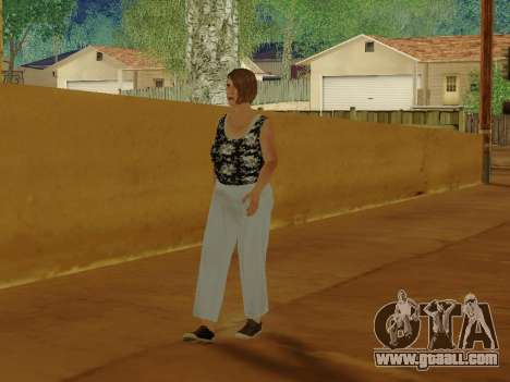 An elderly woman v.2 for GTA San Andreas sixth screenshot